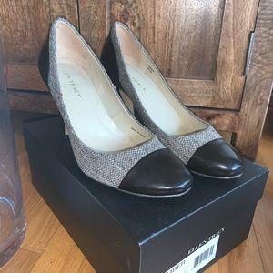 Ellen Tracey Khaki/ New Chocolate Heel